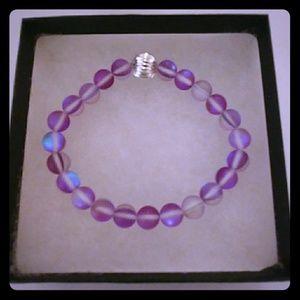 Orchid Purple Moonstone Bracelet